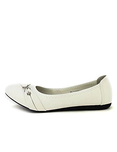 d604d1c7bd8fa Chaussures Blanche Cendriyon Femme Ballerine Blanc Librapop RnCwxZwq5a