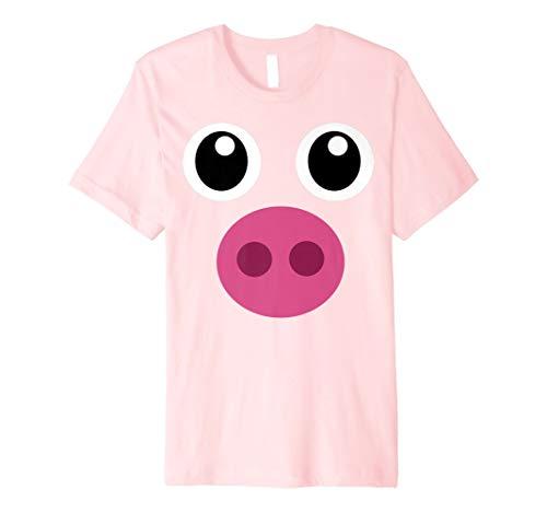 Schwein Kostüm Halloween Schweinchen T-Shirt Ferkel