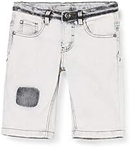 MEK Bermuda Denim Elast Jeans Bambino