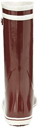 Aigle Malouine, Bottes de pluie femme Rouge (Bordeaux)