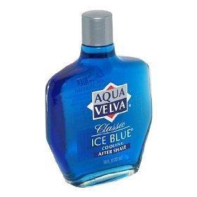 2x Aqua Velva Ice Blue Cooling After Shave Classic aus den USA (Velva Ice Aqua)