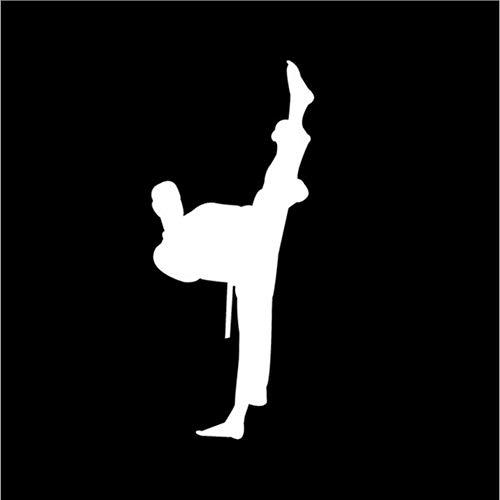 Zybnb 6 * 14 Cm Chinesische Kung Fu Legende Karate Zeichen Auto Aufkleber Aufkleber Fenster Dekoration Auto Aufkleber Und Abziehbilder -3St