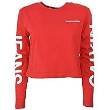 Calvin Klein camiseta de manga larga de mujer J20J210484 645