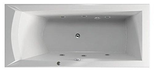 Whirlpool Wasser, Whirlpool Badewanne Hydro, MASSAGE BASIC – Whirlpool für Wellness und Entspannung – für fast alle Wannen einse