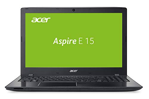 Acer Aspire E 15 (E5-576-76J8) 39,6 cm (15,6 Zoll Full-HD matt) Multimedia Laptop (Intel Core i7-7500U, 8 GB RAM, 256 GB SSD, Intel UHD, Win 10) schwarz -