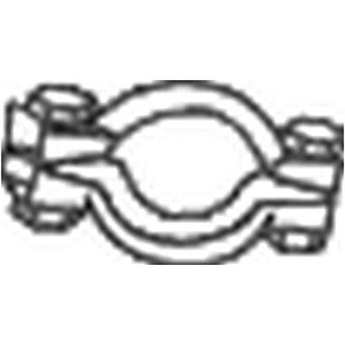 Bosal 254-355 Pièce de serrage, échappement