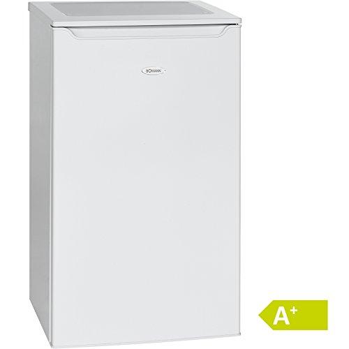 Bomann KS 2261 Kühlschrank/A+/85.3 cm/109 kWh/Jahr/74 L Kühlteil/Eisfach/weiß