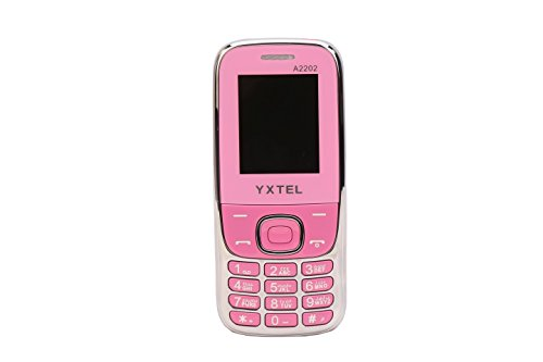 Yxtel 2202 (pink) Dual Sim Open Fm Multi Language