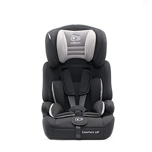 Kinderkraft Kinderautositz Comfort Up Autokindersitz Autositz Kindersitz 9-36kg Gruppe 1 2 3 ECE R44/04 geprüft 5-Punkt-Sicherheitsgurt Schwarz