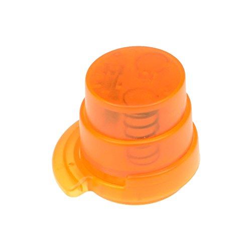 bind klammerloser Hefter ORIGAMI Papiertacker ohne Klammern Falttechnik orange 70522-4 - 2