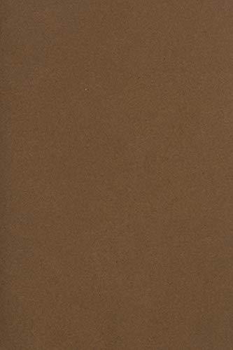 100 x Blatt Braun 250g Tonkarton DIN A4 210x297mm Burano Tabbacco - ideal für Karten, Scrapbooking, Basteln und Dekorieren mit Papier, Einladungen, Kunst und Handwerk
