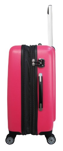 ... 50% SALE ... PREMIUM DESIGNER Hartschalen Koffer - Heys Core Quad Orange - Trolley mit 4 Rollen Medium Pink