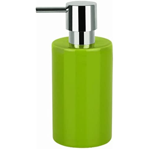 Spirella - Dispenser per sapone liquido in porcellana dura, modello
