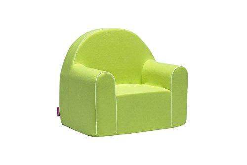 Midi Fauteuil enfant enfants Baby Fauteuil Fauteuil canapé chaise Chaise pour enfant mousse écologique (Vert)