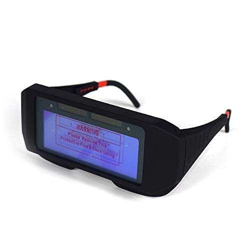 SADA72 Schweißbrille, automatische Verdunkelung, Schweißbrille, Schutzbrille für Schweißer, Augenbrille, Sonnenbrille, Schweiß-Brille, Fotoelektrischer Helm, schützt Ihre Augen