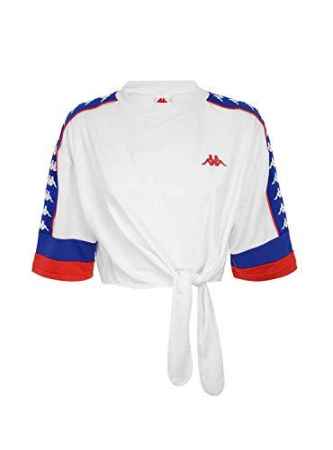 Kappa 222 Banda Burnia Camiseta Mujer Blanco XS X-Small