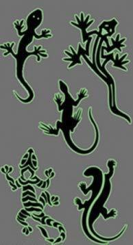 WFOYZNZ Temporäre Tätowierung Leuchtende Tätowierungen Sticker Body Art Glow Metallic Tattoo TemporäreFlash-Tätowierungen Glow In Dark Party Tattoo 4 pieces (Dark The Art Glow Body In)