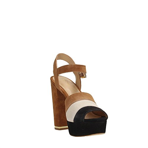 Michael Kors 40T7ASHS6S Sandale Femme BLACK/ACORN