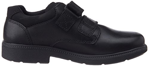 Clarks Deaton Inf, Low-Top Sneaker bambino Black Leather