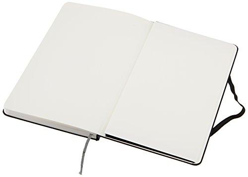 AmazonBasics Classic Plain Notebook – Large, 240 Pages