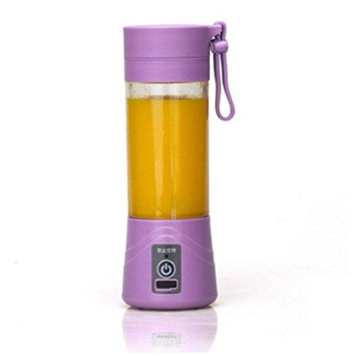 Provide The Best Tragbare Entsafter Cup Akku Saft Blender 380ml USB Juicer (Smoothie Hand Blender)