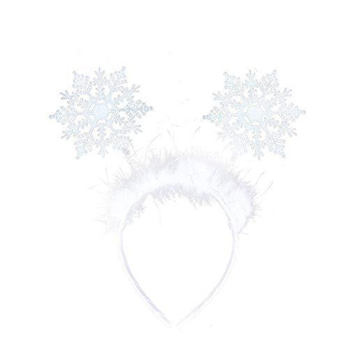 Arpex Zauberhaft schöner Haarreifen Schneeflocke für die kleine Winterprinzessin (Eis Fee Kostüm)