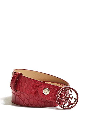 Guess - Cinturón - para mujer, Rojo (rojo), Medium