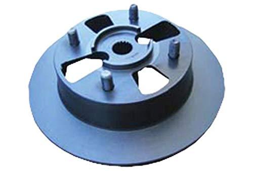Essieu arri/ère ou Essieu avant Jeu de 2 Disque de frein disque de frein Surface: Passivation sans chrome hexavalent HELLA PAGID 8DZ 355 209-081 Vis