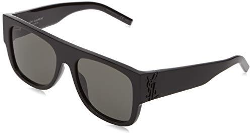 Saint Laurent Unisex-Erwachsene SL M16 001 55 Sonnenbrille, 1/Grey,