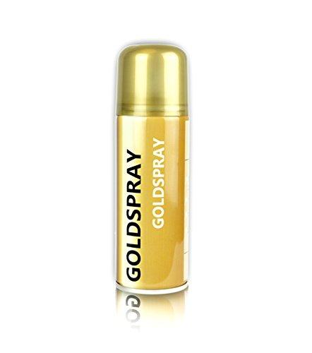 Goldspray aus der Sprühdose Dekospray 150 ml