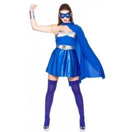 e/Silver (M) Fancy Dress Costume (Blue Cape Kostüm Ideen)