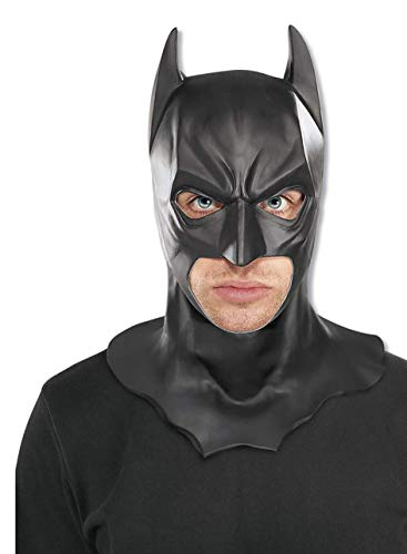 Rubie's ufficiale adulto, Batman Dark Knight Full Mask – Taglia unica, beige