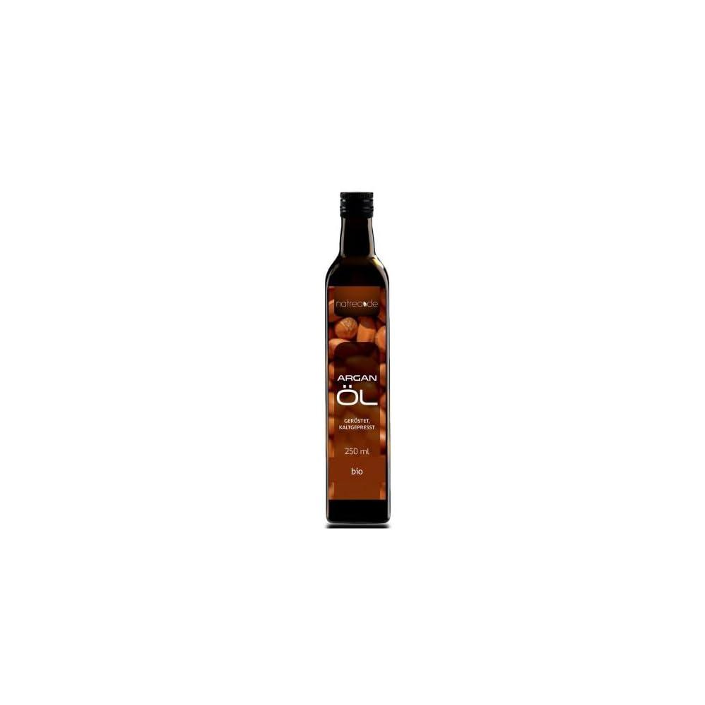 Natrea Arganl Kaltgepresst Gerstet 100 Reines Bio L In 250 Ml Lichtschutzflasche 1 X 025 L