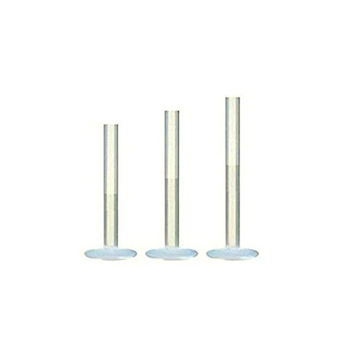 eeddoo PTFE - Stecklabret - Ohne Ball - 6 mm (Piercing Stab für u.a. Lippen-, Nasen-, Conchpiercings)