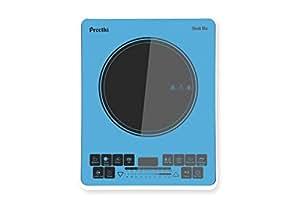 Preethi Indicook Induction Cooktop - Sleek Blu - 1900 watts