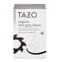 Tazo Organic Earl Grey Blanc Tea, 20 Bags, 1.76 Oz