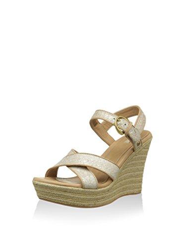 B0981 sandali donna UGG W JAZMINE zeppe scarpe beige shoes women Beige (Soft Gold)