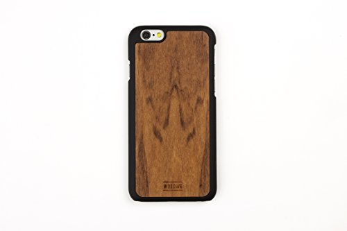 WoodWe Natural Wood Protective Handmade Case / Cover | For Iphone 7 / 8 | Authentic & Stylish | Ethically Sourced | BAMBOO Imbuia