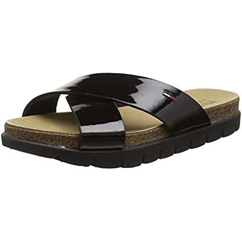 Hilfiger Denim S1385Lide Sandal 2P - Sandalias Mujer