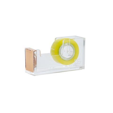 Draymond Story Klar Gold Acryl Tischabroller - Passt für 1 Zoll Durchmesser Core Tape (Muttertag Geschenke)