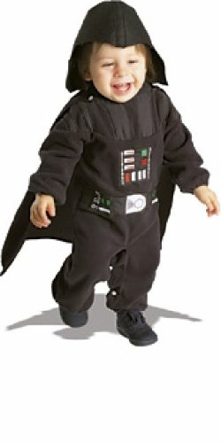 Star Wars TM Darth Vader TM Neugeborenes Fleece-Kostüm 0-9 Monate