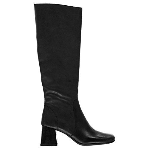 Jeffrey Campbell Femmes Gogo Girl Chaussures Bottine Bottes Longues Genoux Talon Noir