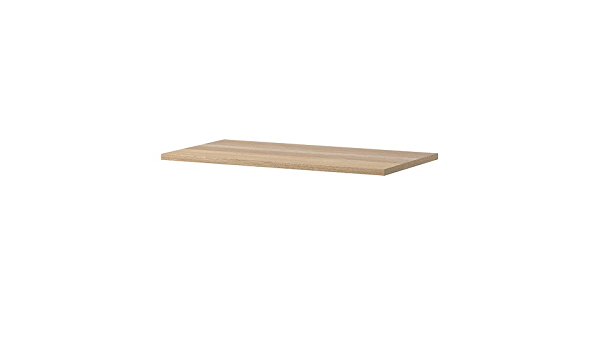 white stained oak effect 75x35 cm 502.735.02 *Brand IKEA *New* KOMPLEMENT Shelf