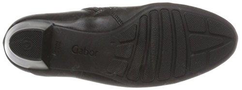 Gabor Damen Comfort Sport Stiefel Schwarz (57 Schwarz (Micro))