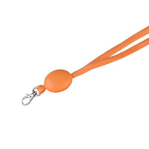 Praktisches LED-Nachtlicht Oval Licht Mitarbeiterkarte hängendes Seil ID Name Badge Holder Lanyard -