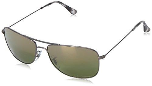 Ray-ban unisex - adulto rb 3543 occhiali da sole, grigio (gunmetal), 59