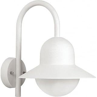 Albert Laterne, Aluminium, E27, weiß, 0 x 0 x 34.5 cm