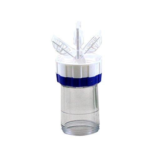 Coconut Neue manuell Kontaktlinsen-Reiniger Washer Reinigungslinse-Kasten-Werkzeug