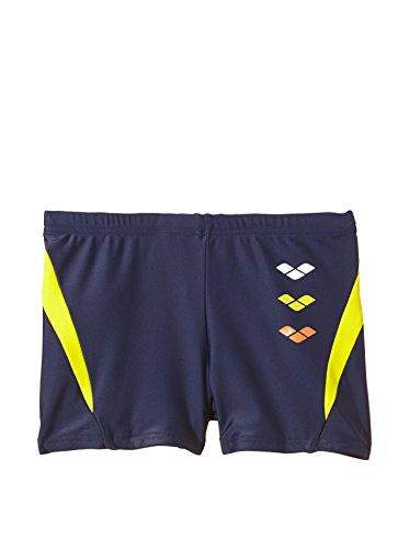 Arena B Astrum Jr Costume Short da Bambino, Navy/Yellow Star, 14/15