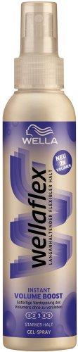 Wellaflex Instant Volume Boost Gel-Spray starker Halt, 6er Pack (6 x 150 ml)